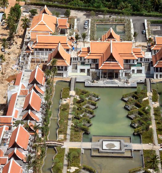 JW Marriott: Aerial View