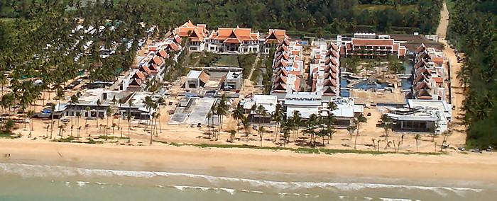 JW Marriott Khao Lak: Aerial View